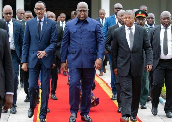 RDC: Félix Tshisekedi et ses homologues triomphent au stade des martyrs