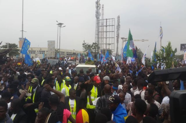 RDC: les dérapages des militants de Lamuka jugés d'inacceptables