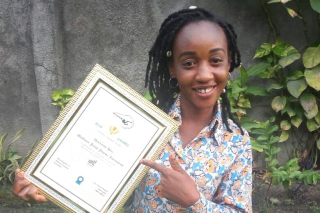 RDC-Médias : Concilie Kalombo primée meilleure journaliste  par Gender Links