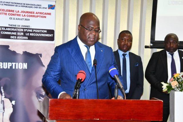 RDC: Félix Tshisekedi réaffirme sa volonté  d'éradiquer la corruption