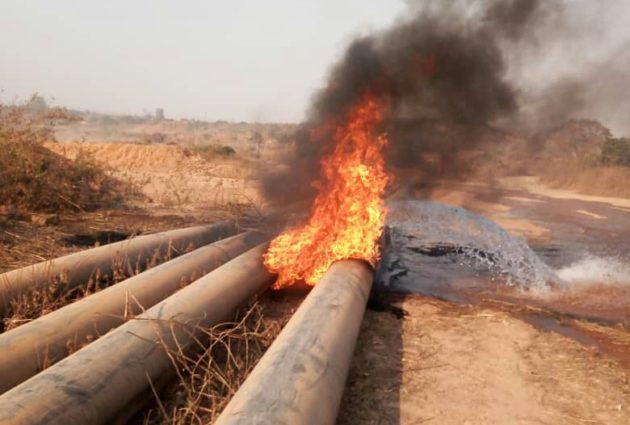 Lualaba: en colère les Creuseurs endommagent les pipes lines de la société METALKOL à Kolwezi