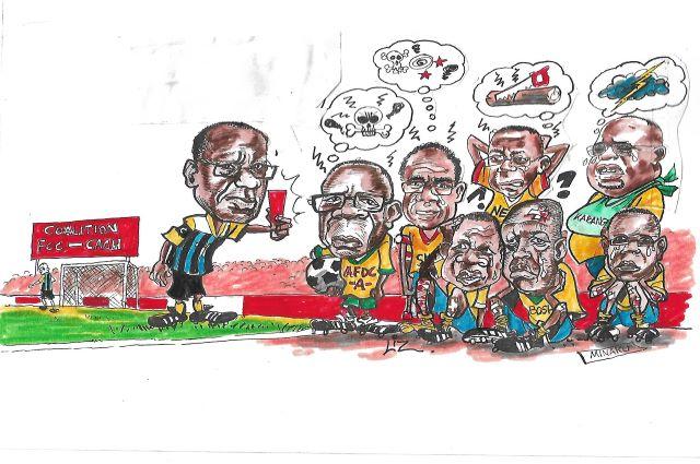 Lubumbashi-Gouvernement: carton rouge pour certains, estime le caricaturiste Mbongo Liz