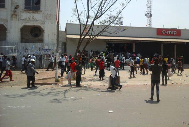 Lubumbashi: Reponse à la Xénophobie, Un magasin Sud -Africain  pillé et vandalisé