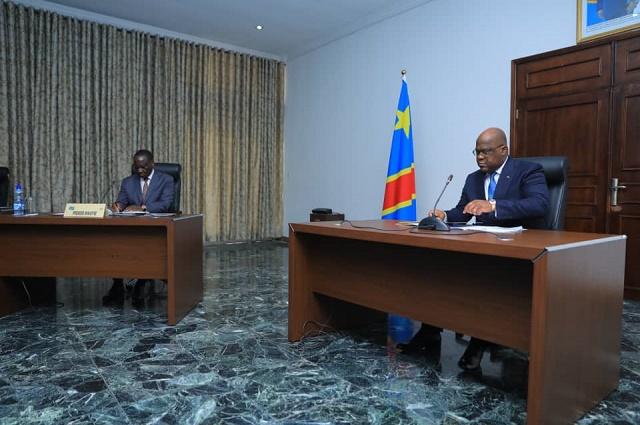 RDC: premier conseil des ministres du gouvernement Sylvestre Ilunga présidé par Felix Tshisekedi