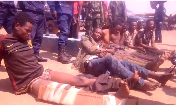 Kasumbalesa: 8 bandits à mains armées arrêtés dans la nuit de lundi à mardi 03 septembre