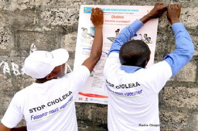 Haut-Katanga: le choléra fait 7 morts en une semaine