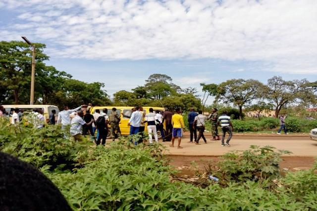 Lubumbashi: des prisonniers s'evadent en plein transfèrement