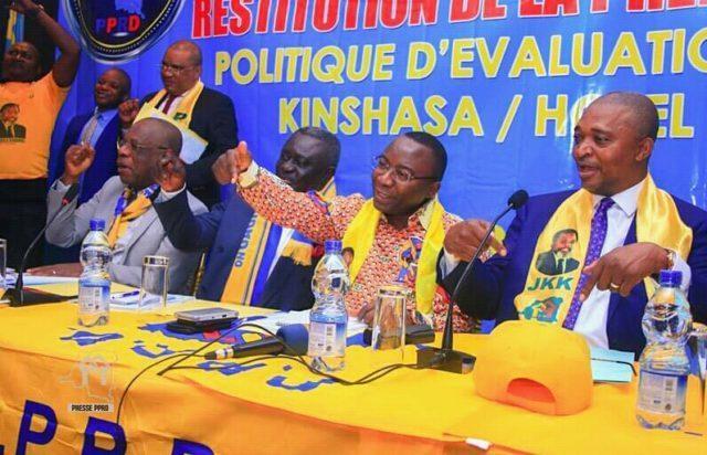 FCC-CACH: IRDH acuse le PPRD de ne pas digérer sa défaite au sommet de l'Etat et UDPS d'oublier qu'elle a le pouvoir