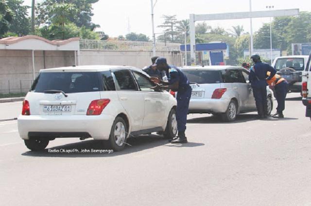 Lubumbashi: barrières policières sur plusieures artères