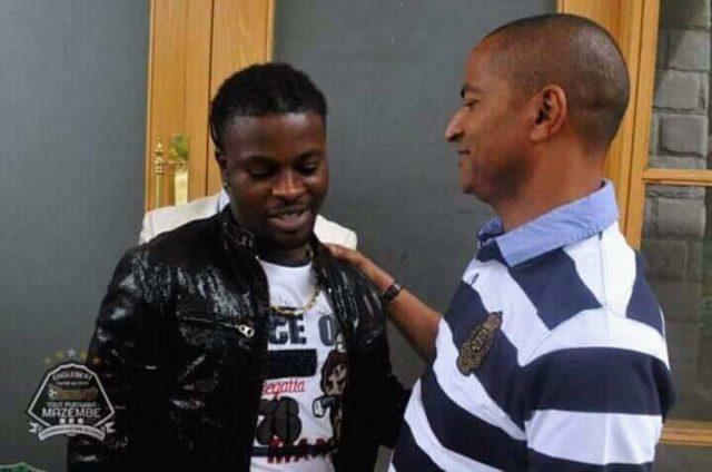 Mazembe: Trésor Mputu accuse les journalistes de RT Nyota de dramatiser ses gestes à la télévision