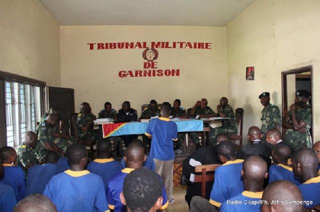 Tribunal militaire de Lubumbashi: plusieures causes renvoyées suite à la décision du barreau