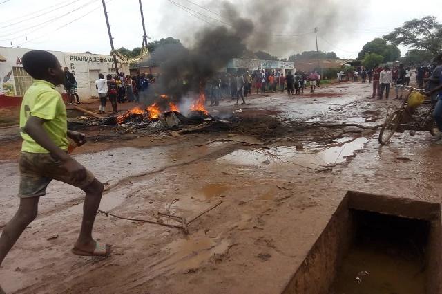 Lubumbashi: vive tension ce matin à la Ruashi