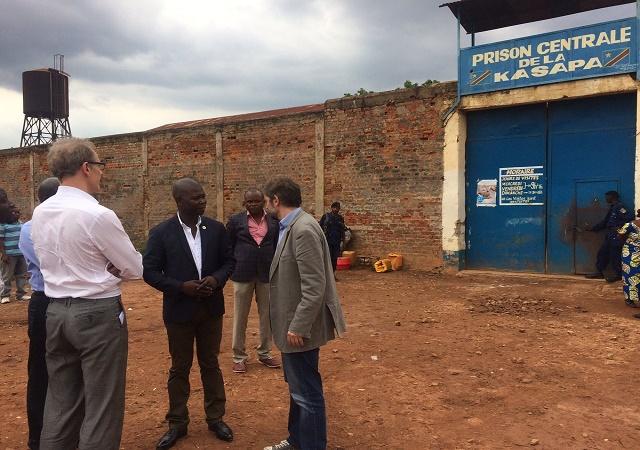 Lubumbashi: la situation demeure imprévisible à la prison de la Kasapa