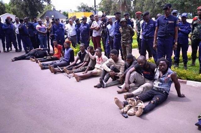 Lubumbashi : 66 bandits arrêtés en l'espace d'un mois