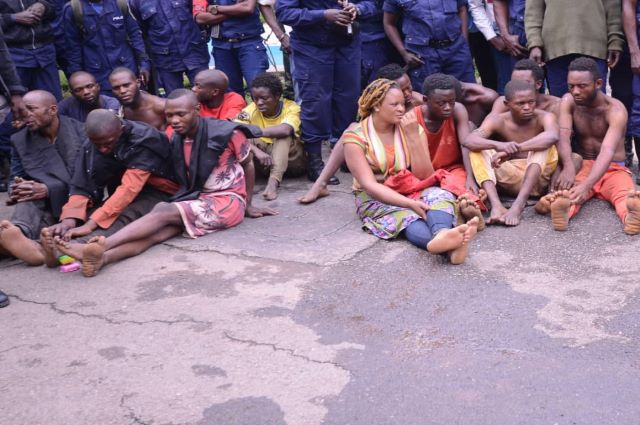 Haut-Katanga: 51 présumés bandits arrêtés et présentés ce mardi 7 janvier au Gouverneur de la Province