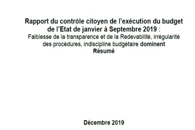 RDC-Programme 100 jours : le taux d'exécution  est de 8 ,7% sur un montant évalué à 2 ,481 milliards