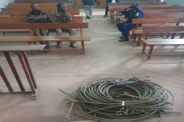 Lubumbashi:2 présumés voleurs des câbles électriques comparaissent en flagrance depuis ce lundi 8 juin