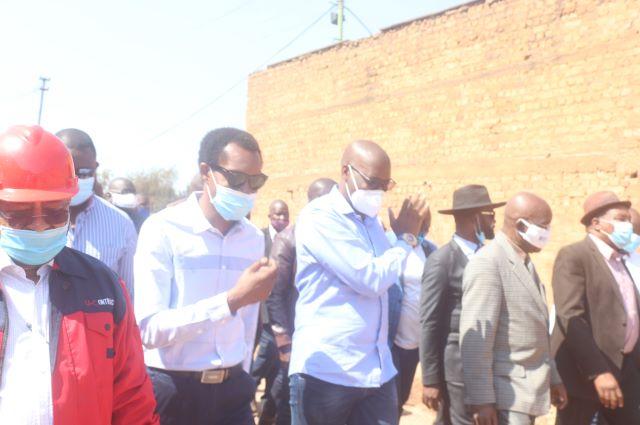 Haut Katanga : Visite des réalisations infrastructurelles du gouvernement provincial