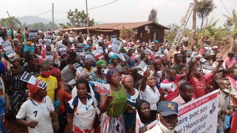 Sud-Kivu: de Bukavu à Walungu, la population exige la libération de Vital Kamerhe