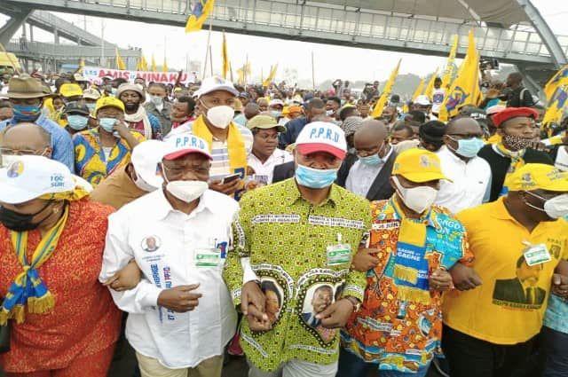 Kinsahasa: le FCC dans les rues pour exiger le respect de la constitution et la cohésion nationale