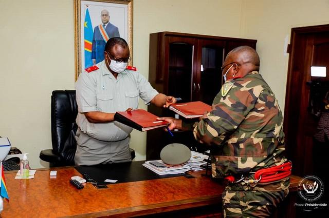 RDC: remise et reprise à la maison militaire du chef de l'Etat
