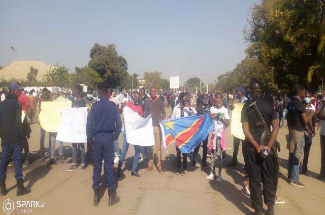 Lubumbashi: les mouvements Citoyens ont manifesté pour dire non à Ronsard Malonda à la tête de la Ceni