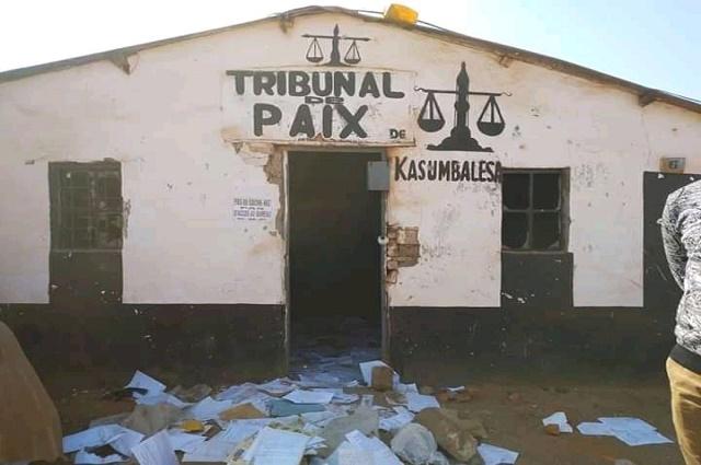Kasumbalesa: tension entre militants de l'UDPS et la police après l'assassinat d'un militant la nuit