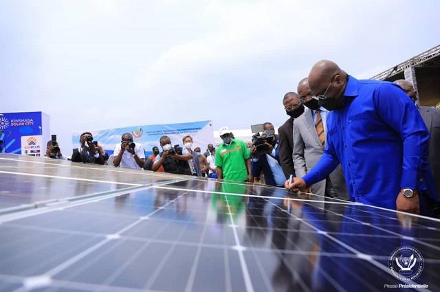 RDC: construction d'une centrale solaire photovoltaïque à Kinshasa