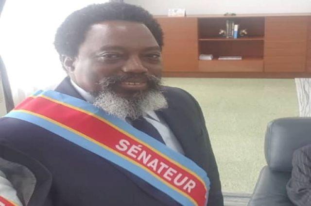 RDC: Joseph Kabila  au Sénat pour la première fois