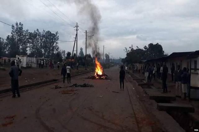 Lubumbashi-Insécurité: une famille brulée vive dans leur maison au quartier Kalebuka