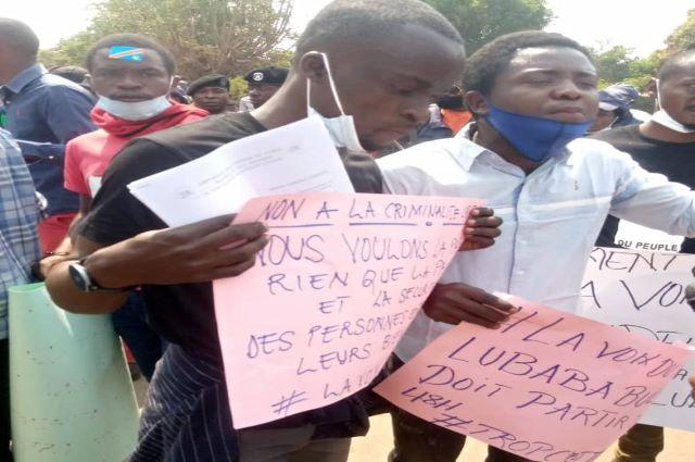 Lubumbashi: Lubaba Buluma invité à démissionner par la Voix du Peuple