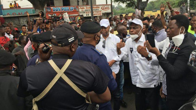 Kinshasa: la marche initiée par Martin Fayulu s'est clôturée dans la confusion