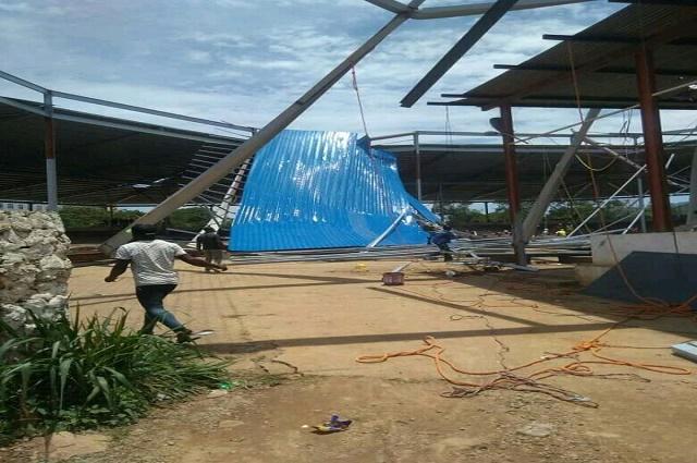Lubumbashi: 1morts et des blessés, bilan de l'écroulement de la toiture de l'amphithéâtre de l'UNILU