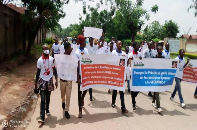 Lubumbashi: les mouvements citoyens exigent une enquête sur les cessions des royalties de la Gecamines aux entreprises proche de Dan Getler