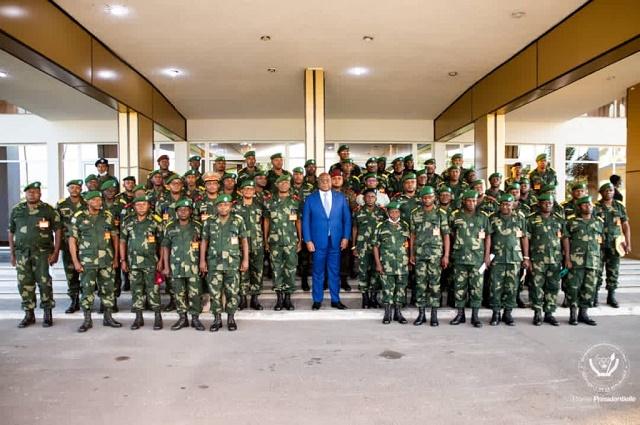 RDC: ouverture de l'école de guerre à Kinshasa