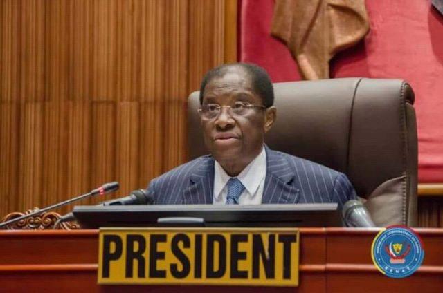 Sénat: sur la chaise éjectable, Thambwe Mwamba se dit prêt de partir