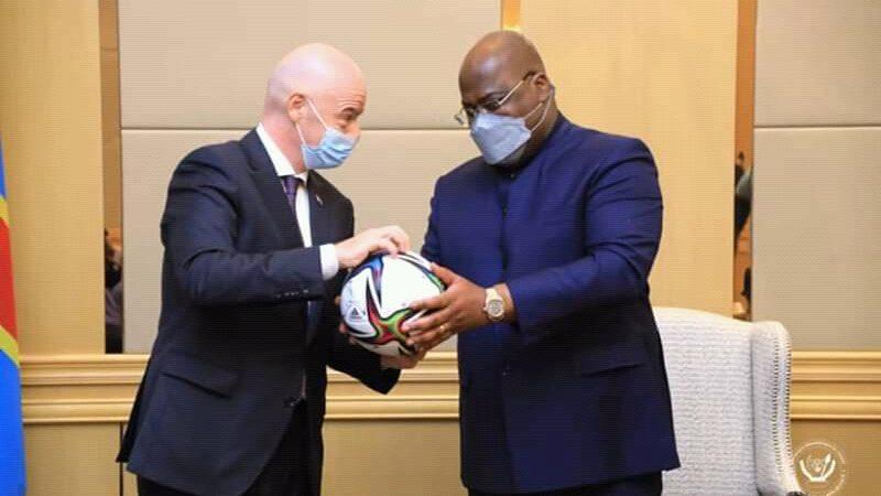 FIFA-RDC: Tshisekedi s'est entretenu avec le président de la fifa