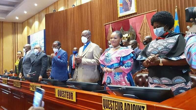 RDC: le sénat de l'union sacrée a été élu et installé
