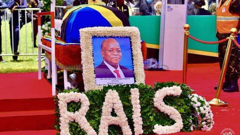 Afrique: le président Magufuli sera inhumé aujourd'hui dans son village natal au bord du Lac Victoria