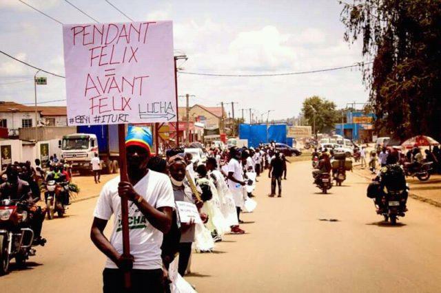 Insécurité à l'est: La Lucha appelle Tshisekedi à concrétiser ses promesses
