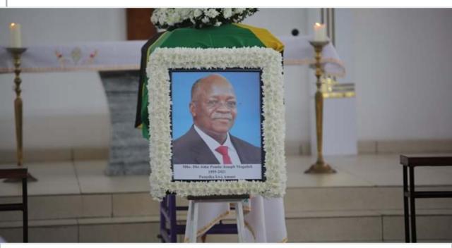RDC: trois jours du drapeau en berne en mémoire de Magufuli