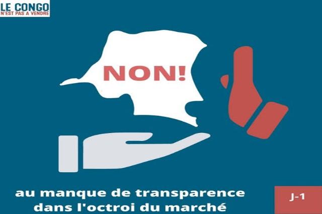 RDC- Affaire lanceurs d'alerte, le Congo n'est pas à vendre condamne un jugement visant à intimider ceux qui dénonce la corruption