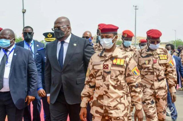 Au Tchad, Tshisekedi a appelé le peuple Tchadien à se  servir de sacrifice du président Déby pour l'unité de leur pays