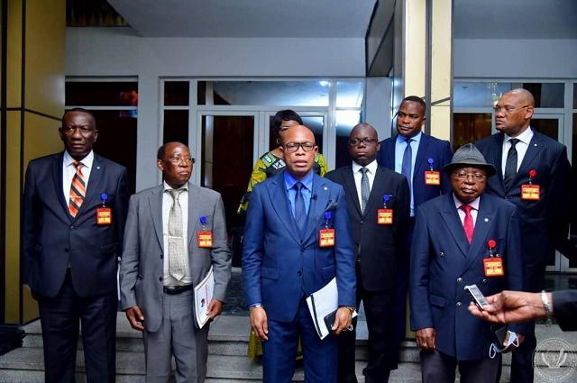 RDC: Felix Tshisekedi a reçus les juges de la Cour Constitutionnelle