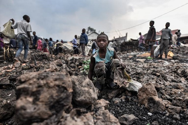Goma- Éruption Nyiragongo: plus de 170 enfants disparus