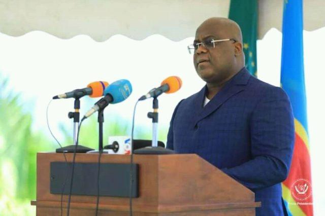 RDC : Felix Tshisekedi lance les travaux de construction du poste de 220 Kv à Kinshasa