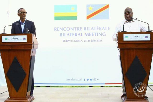 RDC-Rwanda: Kagame se dit prêt d'apporter de l'aide à la RDC