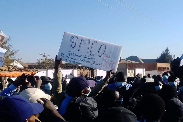 Likasi: les travailleurs de SMCO  en grève pour un salaire décent