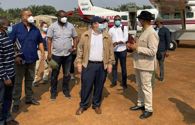 Haut Katanga: Mike Hammer chez Katumbi à Kashobwe