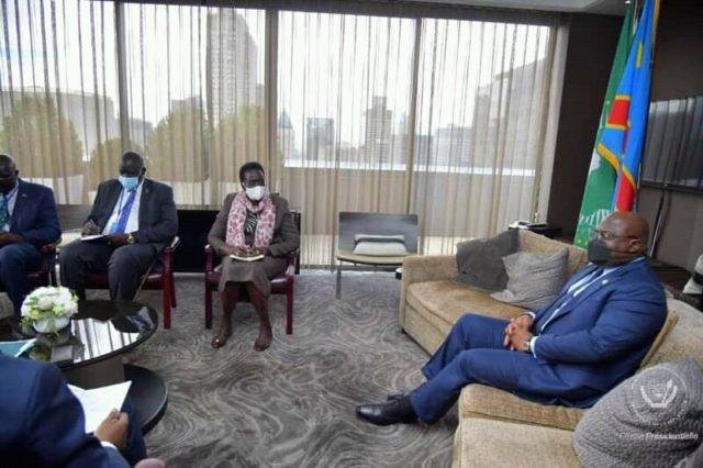 Diplomatie: Tshisekedi multiplie les rencontres à New York
